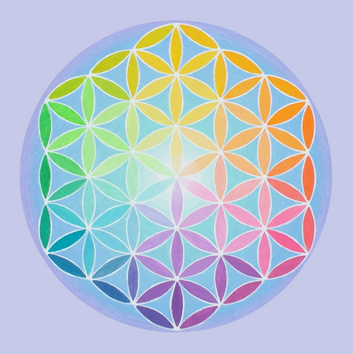 spectral flower of life